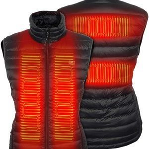 Mobile Warming Summit Duck Down Heated Vest